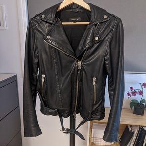 ✨Mackage✨ Biker Style Leather Jacket